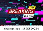 background screen saver on... | Shutterstock .eps vector #1525599734