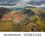 Snowdonia  Wales  Crib Goch  A...