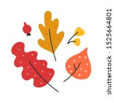 simple hand drawn illustration... | Shutterstock .eps vector #1525664801