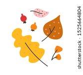 simple hand drawn illustration... | Shutterstock .eps vector #1525664804