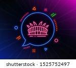 arena stadium line icon. neon...   Shutterstock .eps vector #1525752497