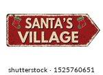 santa's village vintage rusty...   Shutterstock .eps vector #1525760651