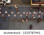 los angeles   october 5  2019 ... | Shutterstock . vector #1525787441