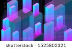 modern abstract background with ... | Shutterstock .eps vector #1525802321