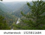 View Of The Pine Creek Gorge...