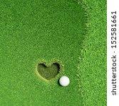 lovely golf  fall in love    Shutterstock . vector #152581661