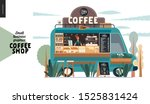 coffee shop  small business... | Shutterstock .eps vector #1525831424