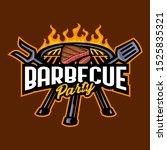 vector of barbecue logo...   Shutterstock .eps vector #1525835321