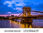 Szechenyi Chain Bridge Is A...