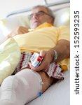 knee surgery after operation...   Shutterstock . vector #152593235