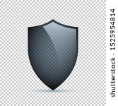 glass shield isolated on...   Shutterstock .eps vector #1525954814
