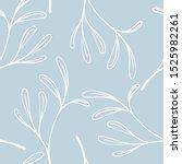 scandinavian seamless pattern... | Shutterstock .eps vector #1525982261