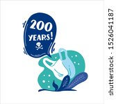 200 years. how long decompos... | Shutterstock .eps vector #1526041187