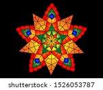 philippine christmas lantern... | Shutterstock .eps vector #1526053787