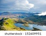 snowdonia. view from crib goch...   Shutterstock . vector #152609951