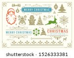 christmas vector decoration... | Shutterstock .eps vector #1526333381