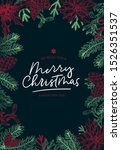 we wish merry christmas and... | Shutterstock .eps vector #1526351537