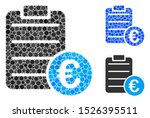 euro pad composition for euro... | Shutterstock .eps vector #1526395511