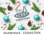 merry christmas composition... | Shutterstock .eps vector #1526417054