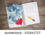 new year's resolutions written... | Shutterstock . vector #152641727