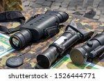 military equipment.  night... | Shutterstock . vector #1526444771