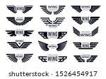 Wings Badges. Flying Emblem ...