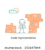trade representative is...   Shutterstock .eps vector #152647844