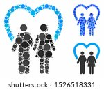 marriage mosaic for marriage... | Shutterstock .eps vector #1526518331