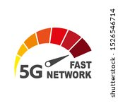 5g internet network vector logo....