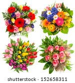 Colorful Flower Bouquets For...