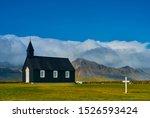 Black Church In Budir  Iceland