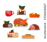 a large set of traditional... | Shutterstock .eps vector #1526626067