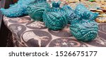 Blue Souvenir Ceramics On...