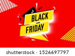 black friday sale abstract... | Shutterstock .eps vector #1526697797