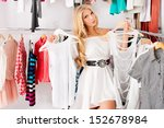 fashionable young woman... | Shutterstock . vector #152678984