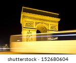paris   august 04  the arc de... | Shutterstock . vector #152680604