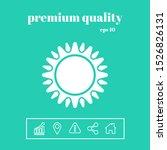 sun icon symbol. graphic... | Shutterstock .eps vector #1526826131