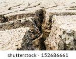 Seamless Cracked Dry Ground...