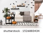 Modern room decorated for...