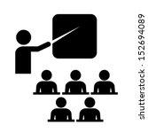 vector training icon | Shutterstock .eps vector #152694089