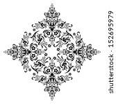 ornamental design  digital... | Shutterstock . vector #152695979