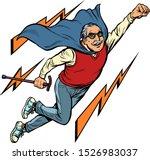 Man Retired Superhero. Health...