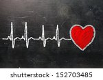 heartbeat character and design  ... | Shutterstock . vector #152703485