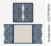 cutout folding envelope for...   Shutterstock .eps vector #1527078404