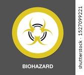 hazard icon dangerous symbol  ... | Shutterstock .eps vector #1527099221