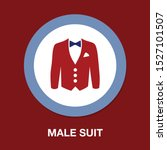 vector jacket icon  man... | Shutterstock .eps vector #1527101507