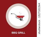 vector bbq grill illustration   ...   Shutterstock .eps vector #1527101564