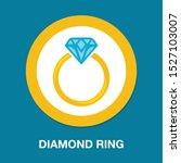 vector diamond ring   wedding...   Shutterstock .eps vector #1527103007