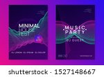 electro event. dynamic gradient ... | Shutterstock .eps vector #1527148667