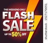 flash sale design for... | Shutterstock .eps vector #1527170051